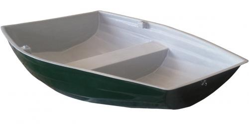 6'-pram-dinghy-row-boat-green