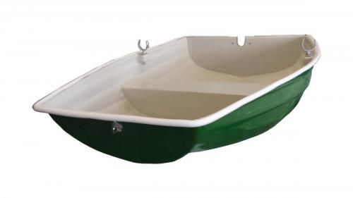 7'-pram-dinghy-yacht-boat-tender-green
